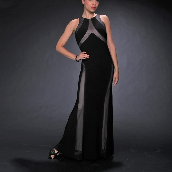 Night Way Collections Dresses & Skirts - Long Evening Black Dress